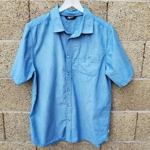 The North Face Blue Button down Shirt